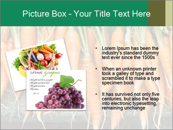 Fresh carrots PowerPoint Template - Slide 20