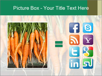 Fresh carrots PowerPoint Template - Slide 21