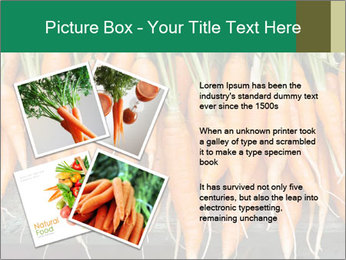 Fresh carrots PowerPoint Template - Slide 23