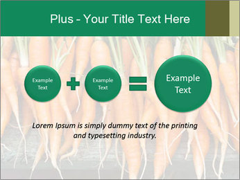 Fresh carrots PowerPoint Template - Slide 75