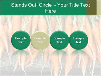 Fresh carrots PowerPoint Template - Slide 76