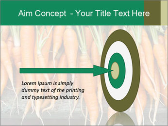Fresh carrots PowerPoint Template - Slide 83