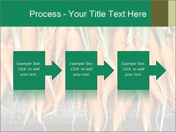 Fresh carrots PowerPoint Template - Slide 88