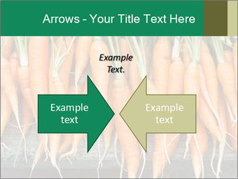 Fresh carrots PowerPoint Template - Slide 90