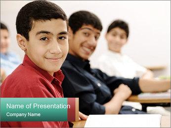 Happy children PowerPoint Templates - Slide 1