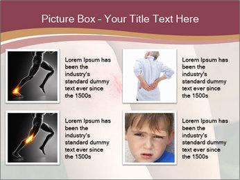 Scraped knee PowerPoint Template - Slide 14