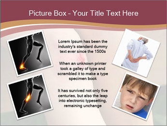 Scraped knee PowerPoint Template - Slide 24