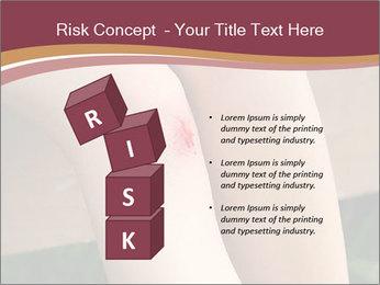 Scraped knee PowerPoint Template - Slide 81