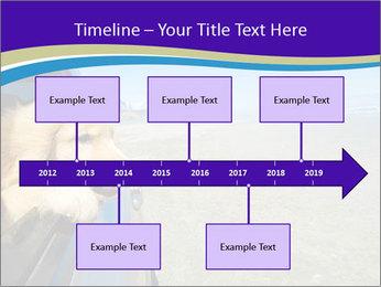 Golden Retriever PowerPoint Templates - Slide 28