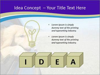 Golden Retriever PowerPoint Templates - Slide 80