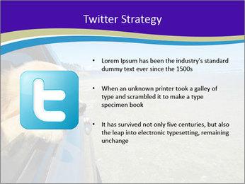 Golden Retriever PowerPoint Template - Slide 9