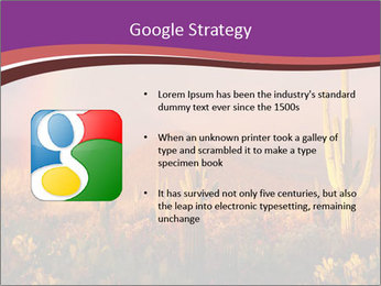Rainbow sunset PowerPoint Template - Slide 10
