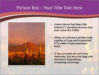 Rainbow sunset PowerPoint Template - Slide 13