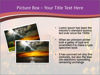 Rainbow sunset PowerPoint Template - Slide 20