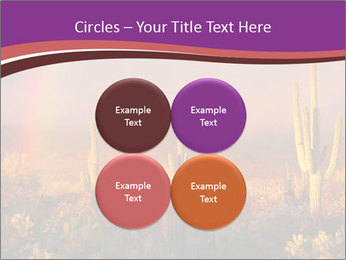 Rainbow sunset PowerPoint Template - Slide 38