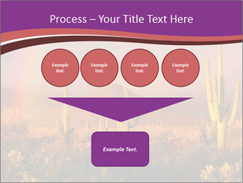 Rainbow sunset PowerPoint Template - Slide 93