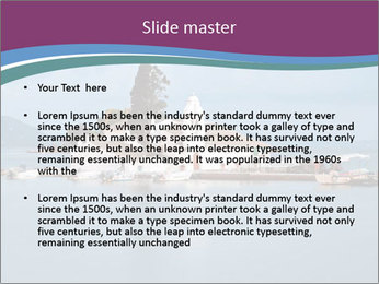 Vlacherna monastery PowerPoint Template - Slide 2