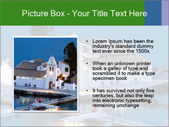 Monastery at sunset PowerPoint Template - Slide 13