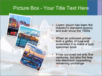 Monastery at sunset PowerPoint Template - Slide 17