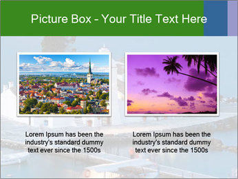 Monastery at sunset PowerPoint Template - Slide 18