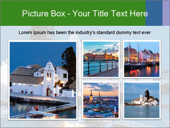 Monastery at sunset PowerPoint Template - Slide 19