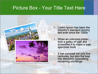Monastery at sunset PowerPoint Template - Slide 20