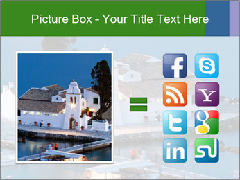 Monastery at sunset PowerPoint Template - Slide 21