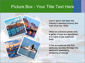 Monastery at sunset PowerPoint Template - Slide 23