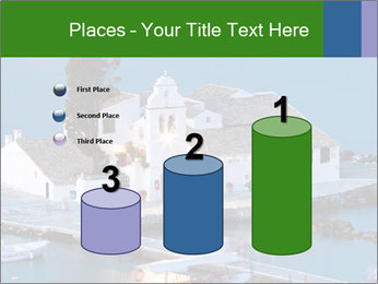 Monastery at sunset PowerPoint Template - Slide 65