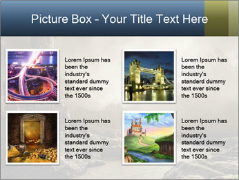 Fantasy landscape PowerPoint Templates - Slide 14