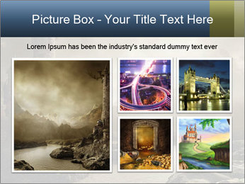 Fantasy landscape PowerPoint Templates - Slide 19