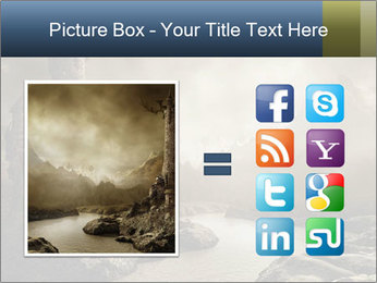 Fantasy landscape PowerPoint Templates - Slide 21