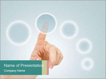 Virtual buttons Modèles des présentations  PowerPoint