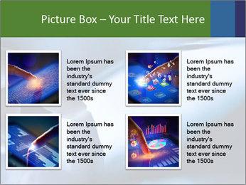 Finger touching screen PowerPoint Template - Slide 14