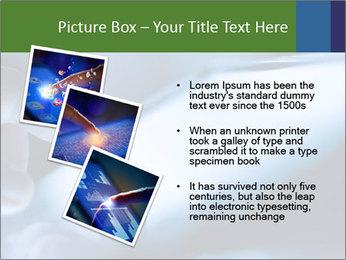 Finger touching screen PowerPoint Template - Slide 17