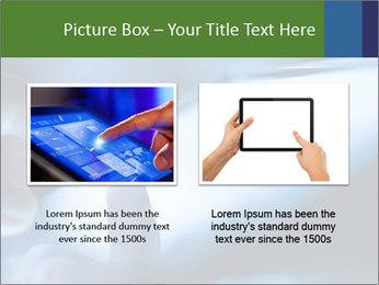 Finger touching screen PowerPoint Template - Slide 18