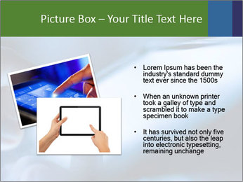 Finger touching screen PowerPoint Template - Slide 20
