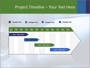 Finger touching screen PowerPoint Template - Slide 25