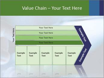 Finger touching screen PowerPoint Template - Slide 27