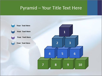 Finger touching screen PowerPoint Template - Slide 31
