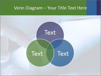 Finger touching screen PowerPoint Template - Slide 33