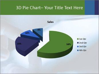Finger touching screen PowerPoint Template - Slide 35