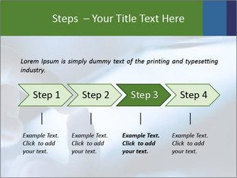 Finger touching screen PowerPoint Template - Slide 4