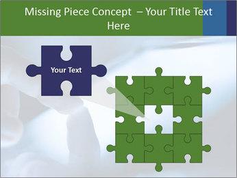 Finger touching screen PowerPoint Template - Slide 45