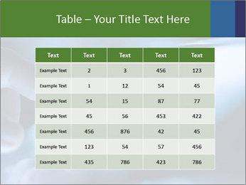 Finger touching screen PowerPoint Template - Slide 55