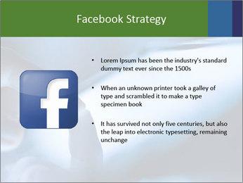 Finger touching screen PowerPoint Template - Slide 6