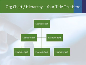 Finger touching screen PowerPoint Template - Slide 66