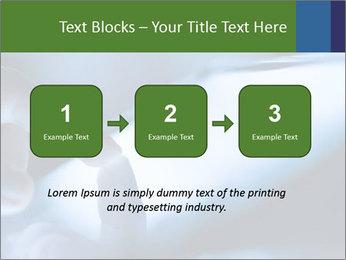 Finger touching screen PowerPoint Template - Slide 71