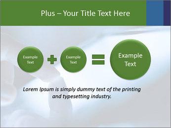 Finger touching screen PowerPoint Template - Slide 75