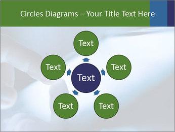 Finger touching screen PowerPoint Template - Slide 78